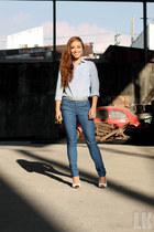 blue memo jeans