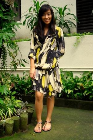 dress - shoes - Rockwell Bazaar accessories