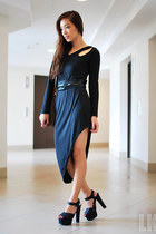 black Chic Anthem dress