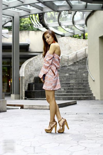 brown heels Aldo shoes