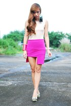 hot pink Desino Dulce skirt