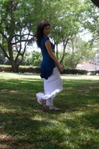 renuar skirt - Urban Outfitters flats - Accessorize necklace