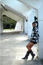 American Boulevard jacket - 168 shorts - Janylin boots