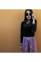 vintage shorts - velve Gap blouse