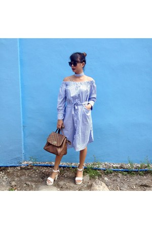 blue cotton NastyDress dress