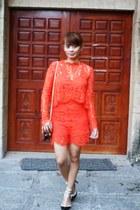 carrot orange StyleMoi romper