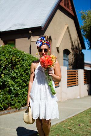 white sun dress Asha dress