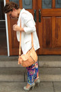 White-msgm-blazer-light-pink-calf-skin-see-by-chloé-bag-white-top