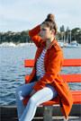 Burnt-orange-asos-coat-light-blue-high-waisted-lee-jeans