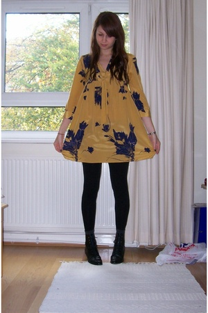 Urban Outfitters dress - Miss Selfridge pants - shoes - new look jacket - Primar