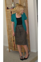 Mossimo top - Ann Taylor Loft sweater - united colors of benetton skirt