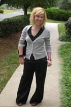 Aeropostale sweater - American Apparel t-shirt - Mossimo pants - Claires bracele