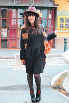 Jeffrey Campbell wedges - H&M dress - bag vintage accessories