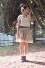 Beige-topshop-accessories-beige-mango-skirt-beige-mango-t-shirt