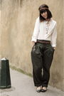 Gold-six-accessories-green-sessun-pants-white-a-ct-skirt