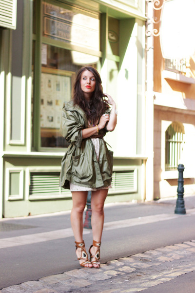 olive green asos jacket