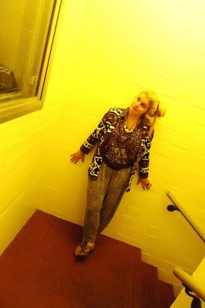 snakeskin Deena & Ozzy flats