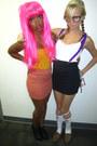 Mustard-forever-21-skirt-coral-forever-21-skirt-black-forever-21-wedges