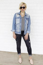 Zara-jeans-marshalls-jacket-london-fog-sunglasses-marshalls-flats
