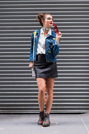 denim Nasty Gal jacket - Shopbop bag