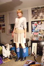 Ivory-via-goodwill-j-crew-sweater-orange-urban-outfitters-shirt-navy-target-