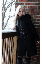 black BCBG coat - brown Target scarf - gray Target socks - black samse samse dre