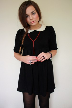 silver cross ring asos accessories - black asos dress