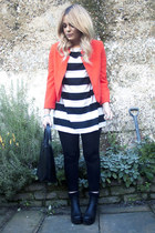 ruby red red Topshop jacket