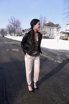 Forever 21 jacket - light pink Urban Outfitters pants