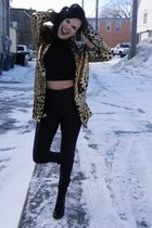 sequins Nasty Gal blazer - Steve Madden shoes