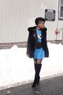 Tahari-boots-leather-zara-jacket-vintage-penelopes-vintage-t-shirt