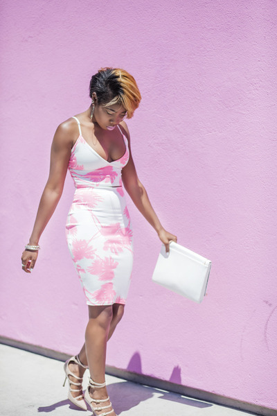 ted baker bag - Missguided skirt - samanta Kurt Geiger heels - Missguided top
