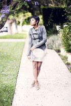 samantha Kurt Geiger heels - lace Sugarlips skirt
