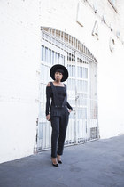 Cosette Clothing jumper - asos hat - Christian Louboutin heels