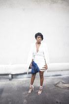 Aldo heels - Missguided skirt
