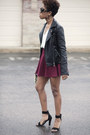 Zara-jacket-prada-sunglasses-brick-red-skater-skirt-locks-and-trinkets-skirt