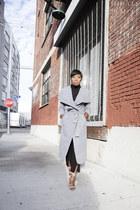 Missguided coat - Steve Madden heels