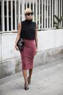 Crop-top-asos-top-pencil-skirt-asos-skirt-theyskens-theory-heels