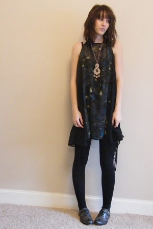 All Saints dress - Diesel shoes