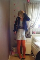 Urban Outfitters jacket - Topshop dress - KG shoes