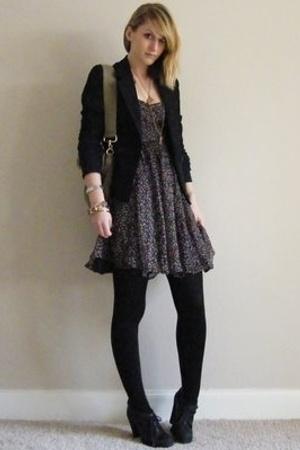 vintage blazer - OU dress