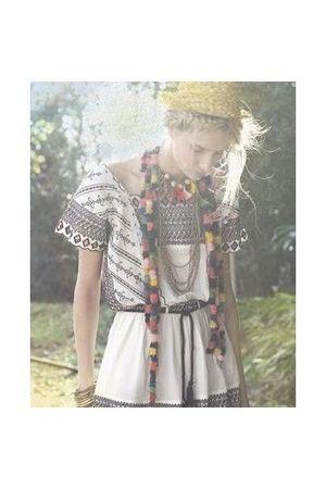 white rapsodia dress