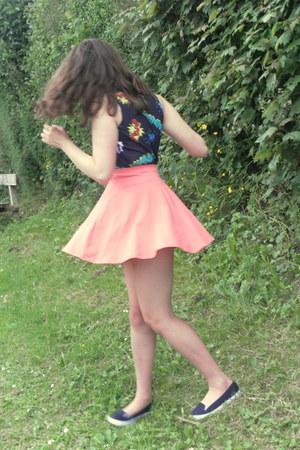 new look skirt - new look top - Primark pumps
