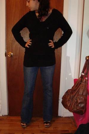 Rue 21 sweater - Charlotte Russe jeans - Charlotte Russe shoes