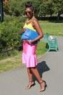 Primark-shoes-blue-clutch-asos-bag-leopard-karen-walker-sunglasses