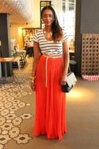 pastel necklace Zara necklace - classic bag Chanel bag
