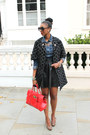 Spotted-marni-coat-denim-vintage-shirt-patent-leather-mulberry-bag