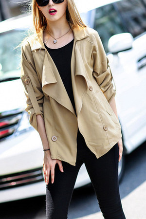 dark khaki khaki Lookbook Store jacket