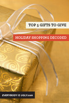 Top 5 Gifts To Give: Holiday Shopping Decoded