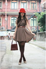 Light-brown-dress